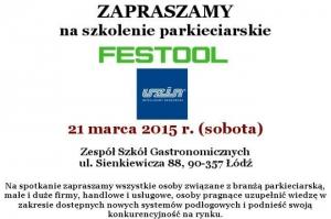 Szkolenie parkieciarskie w Łodzi